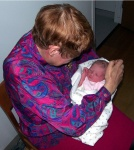 Grandma Marcie (Harold's mom) and Annabel