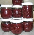 14 jars of Plum Blueberry Jam