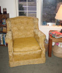 "My new ""old lady"" chair :)"