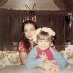 Mom & Me, Christmas 1981