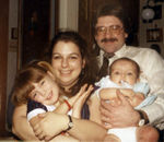 Bean, with Mom, Brian and sister Laura