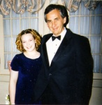 Bean at her Senior Prom with the Assistant Principal (no he's not my date!)