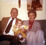 Halloween 1978 with Grandpa & Grandma Peters
