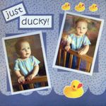 Just Ducky! (7 mos old)
