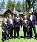 All of the boys - Bradley, Jeremy, Harold, Tony & Brian (who snuck into the picture!)