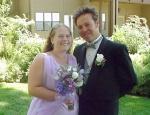 Tony (groomsman) & Jula (maid of honor)