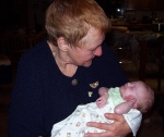 Grandma Marcie and Annabel