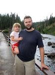 Annabel & Daddy near Lewis Falls