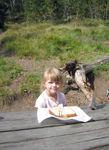 Lunch at Lewis Lake